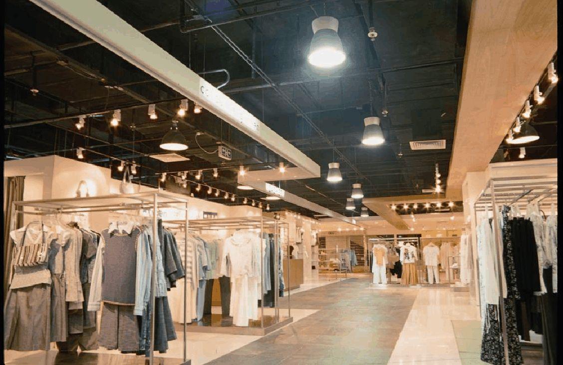 服装店装修中怎样进行灯光设计?