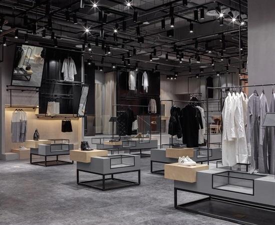 服装店铺装修墙面材质怎么选?