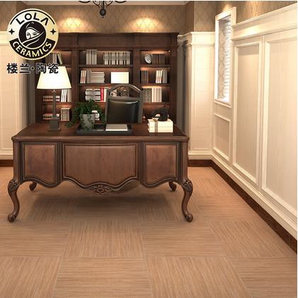 楼兰陶瓷 瓷砖地板砖 木纹砖 书房,阳台 简约现代 仿皇家橡木 100x600