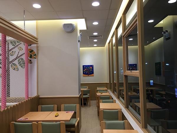 福建三明德克士291平餐厅装修