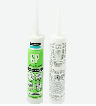 道康宁酸性玻璃胶/有机硅密封胶/门窗胶 白色/透明/黑色GP