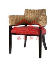 漫咖啡餐厅咖啡店专用椅子两岸咖啡星巴克休闲圆弧藤椅