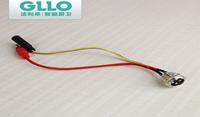 GLLO洁利来感应龙头插座总成正品原装配件:航空插座总成原厂正品