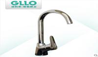 GLLO洁利来厨房龙头全铜台上盆水槽洗菜盆龙头冷热旋转水龙头
