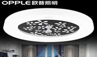 欧普照明 圆形温馨led客厅主卧室水晶吸顶灯餐厅房间现代简约
