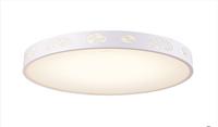 欧普照明 LED卧室灯 温馨 现代简约吸顶灯 灯具灯饰 花香鸟语