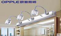 欧普照明 led镜前浴室壁灯卫生间镜灯现代简约防水防潮镜柜化妆