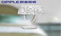 欧普照明 欧式卧室床头台灯 婚庆创意田园床头灯 温馨装饰灯