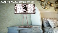 欧普照明正品 卧室装饰台灯 浪漫温馨灯具 现代简约灯饰 花漫月