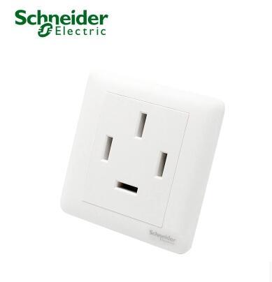施耐德 畅意系列 白色 25A三相四线动力插座 空调插座